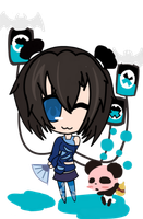 TinierMe: Contest Entry -tama- by VampireSora1
