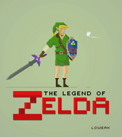 Pixel Art Link by Loweak