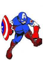 Captain America the Ultimate Avenger by Yusef-Muhammed