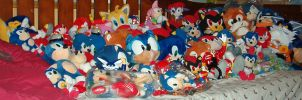 Sonic Plush Collection by Makojupiter