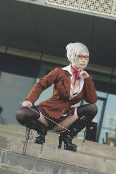 Prison School - Meiko Shiraki by LeeDMaggot