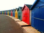 Rainbow Huts by graphicscove