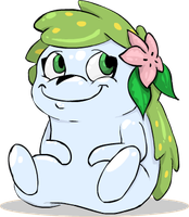 Steph1254 Commission: Shaymin by Weaponized-Wafflez