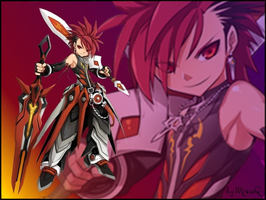 Elsword Infinity Sword Wallpaper by MiisiaQ