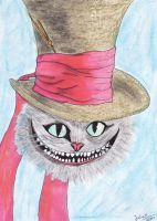 Cheshire Cat by LauraHelenaRose