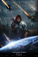 Mass Effect - Take Back Earth (Femshep Edition) by ryansd