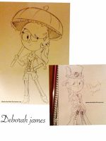 Over The Garden Wall oc:Deborah james by ShadowStarDark
