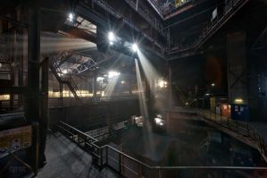 Heavy metal steelworks by CyrnicUrbex