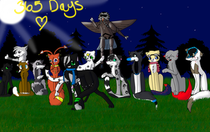 365 days :D by Darkstar-9-25