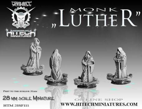 Luther- monk by GRYTZ