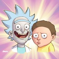 Rick and Morty by D-MAC