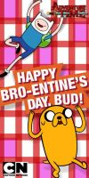 Adventure Time: Jake and Finn Bro-entine's Day by Mordecai-Fan