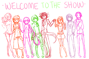 Welcome to the Show WIP by MikachuKuro