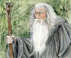 Gandalf by LMRourke