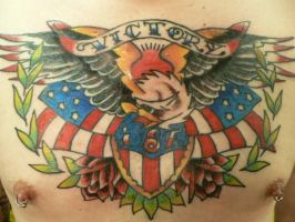 Eagle Chestpiece by lostsoul82079