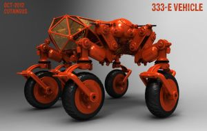 ORANGE VEHICLE 333 E by CUTANGUS
