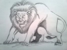 lion 3 by BeautifulLie89