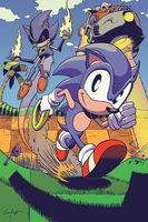 Fastest Thing Alive - Blue Blur by mistermuck