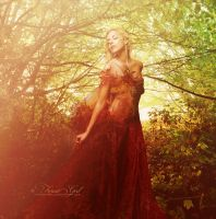 Autumn Goddess by ForestGirl by Realm-of-Fantasy