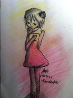 Annabelle -- I Can't Colour 2 by Jeevas-Chan