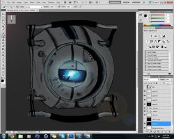 Wheatley WIP by SeiakuCosplay