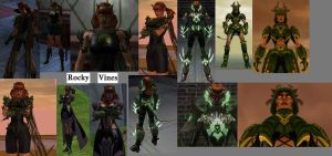 CoH Toon Collage 07 by Jaguard