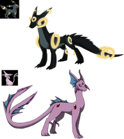 Pokemon Themed Dragon adopts Set 2 01 CLOSED by Eternity9