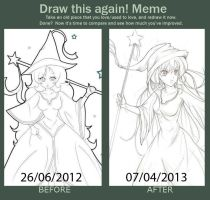 Draw Again!  2012 to 2013 by Yuuki-Tachi