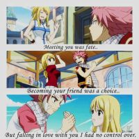 Fairy Tail: Lucy and Natsu by hay123lin