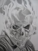 THE GHOST RIDER by corysmithart
