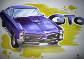 Classic Curves - 67 GTO by latent-ookami