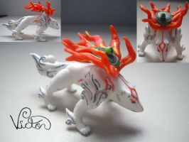 Okami Amaterasu by VictorCustomizer