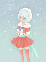 Minty Christmas by Synczoid