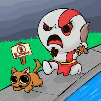 LilAngryKratos by Spidoodle