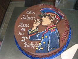 Advance Wars Cake by CreativeMommie