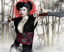 Confidence of the Kunoichi by RavenMoonDesigns