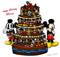 Happy birthday Mickey by chiby-furry