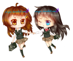 COM - Jenna and Chii by Wingsie