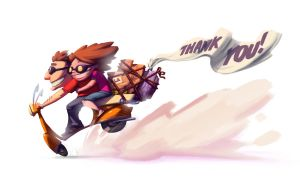 THANK YOU! by TheGreyNinja