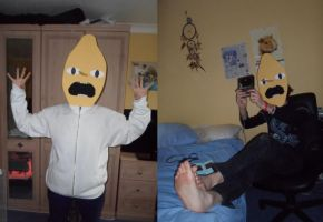 Lemongrab cosplay stage 9 by Froodals