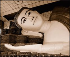 Relaxing Buddha by Real-Nela