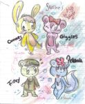 Sketches Happy Tree Friends by Flappy-Sweetbear