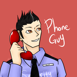FNaF: Phone Guy (my version) by YanderePrime