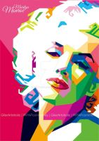Marilyn Monroe by gilar666
