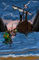 Vikings departure by ThaneBobo