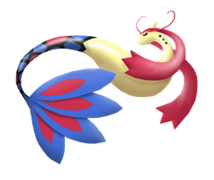 3D Milotic Art with Photoshop by Keh-ven
