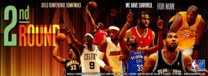 2nd Round 2012 NBA Playoffs by YaDig