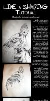Line and Shading tutorial. by midnightINK