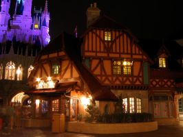 MK Fantasyland at Night 9 by AreteStock