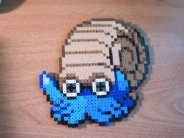 Omanyte in Perler Beads by CooltrainerBrooke